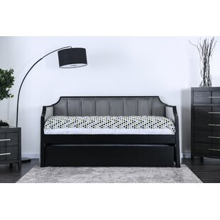 Edgao Twin Daybed with Trundle by Rosdorf Park