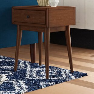 Read Reviews Norberg End Table with Storage by Mercury Row
