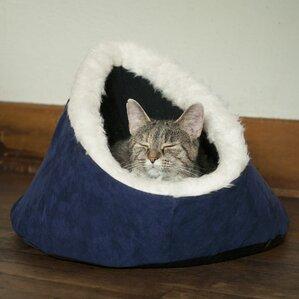 comfort cavern cat bed