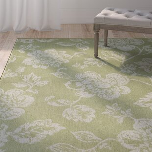 Kofi Green/White Indoor/Outdoor Area Rug