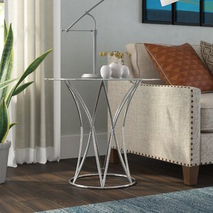 Reviews Atlanta End Table by Wade Logan