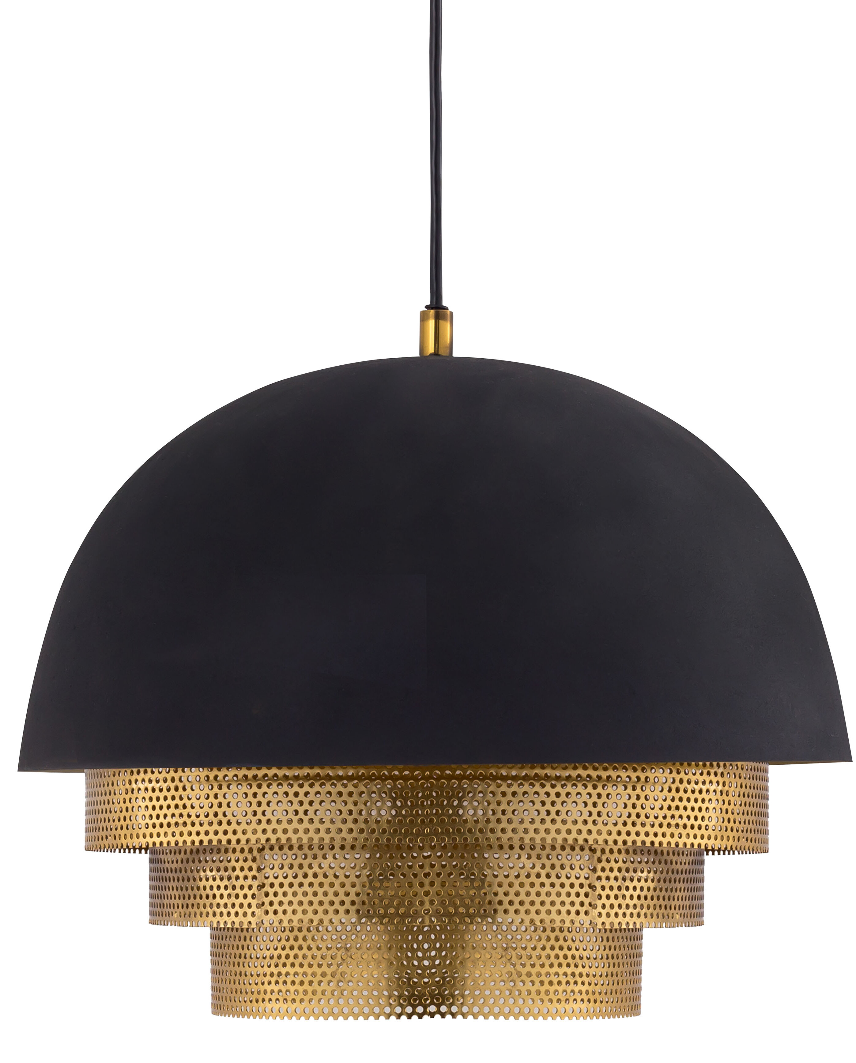 Modern Dome Metal Pendant Lighting Allmodern