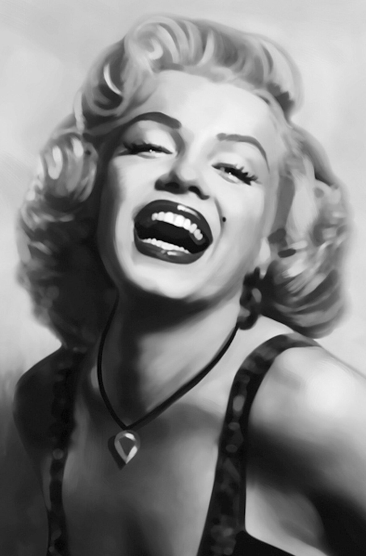 Ebern Designs Clarkrange Marilyn Monroe 5 9 L X 46 8 W Wall Decals Wayfair