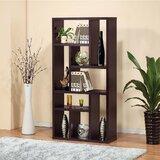 Dawood 70 H x 31 W Geometric Bookcase by Latitude Run®