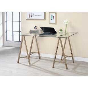 Hileman Glass Writing Desk