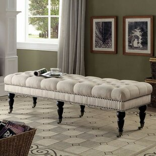 Kleist Plushy Upholstered Bench