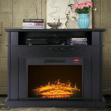 Rodiguez TV Stand for TVs up to 48 with Fireplace Included by Red Barrel Studio®