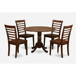 Spruill 5 Piece Extendable Dining Set August Grove