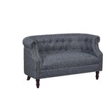 Stotfold Chesterfield Loveseat by Charlton Home®