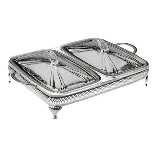 Queen Anne Rectangular Double Casserole with Lid