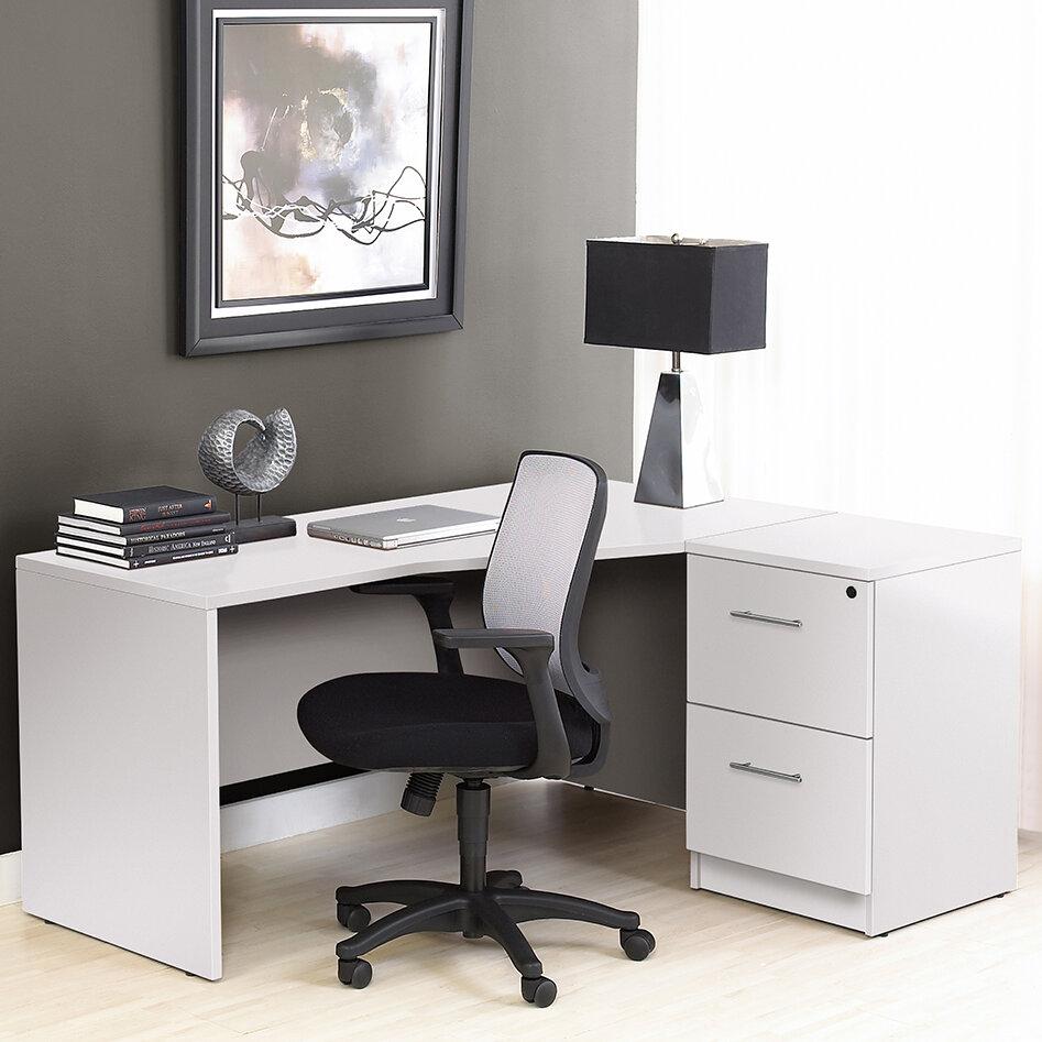 Haaken Furniture Pro X Corner Desk | Wayfair