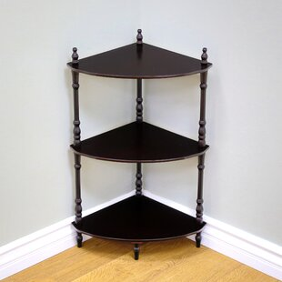 Corner Bookcase by Mega Home