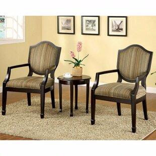 Danbury 3-Piece Accent Set  sc 1 st  Wayfair & 3 Piece Accent Chair And Table | Wayfair