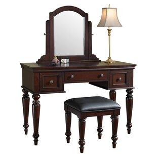 Rossie Vanity Set with Mirror