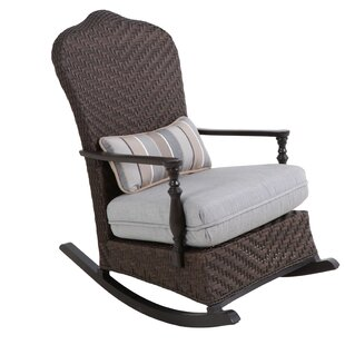 Bungalow Rocking Chair with Cushion