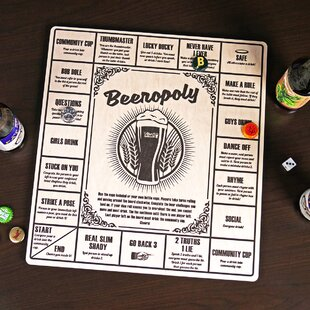 Beeropoly Beer Game by Home Wet Bar