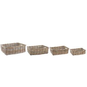 4-tlg. Aufbewahrungskorb-Set von Old Basket Supp..