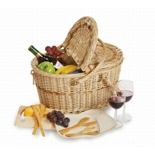 Creston 2 Person Eco Friendly Picnic Basket