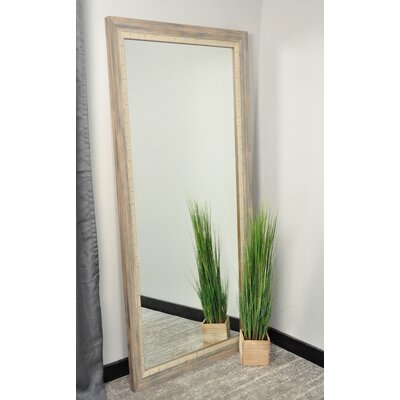 BrandtWorksLLC Weathered Beach Modern & Contemporary Wall Mirror Size: 71 H x 32 W x 1.5 D