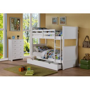 Watson Twin Over Twin Bunk Bed by Harriet Bee Fresh