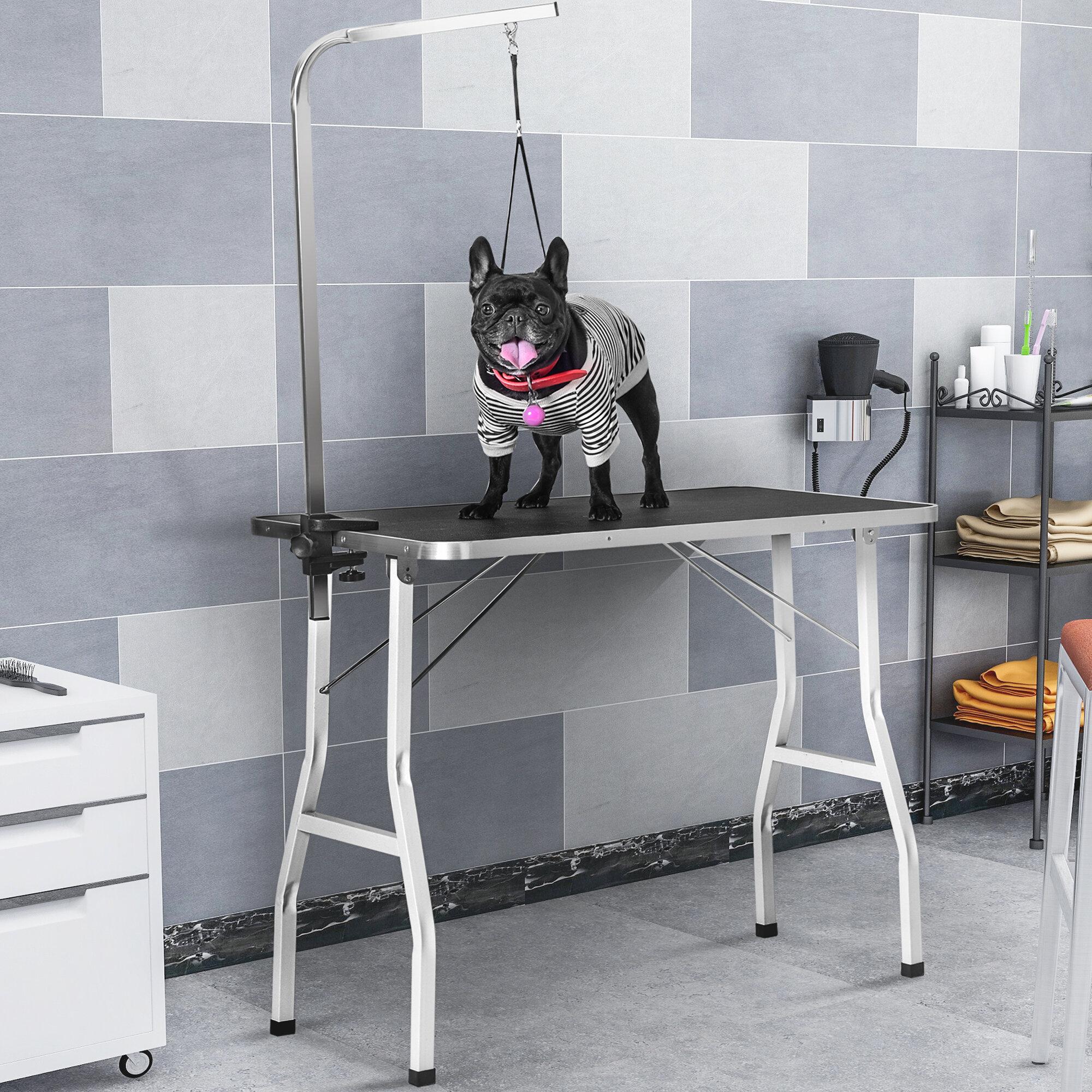 H J Wedoo Nylon Rubber Mat Pet Grooming Table Wayfair