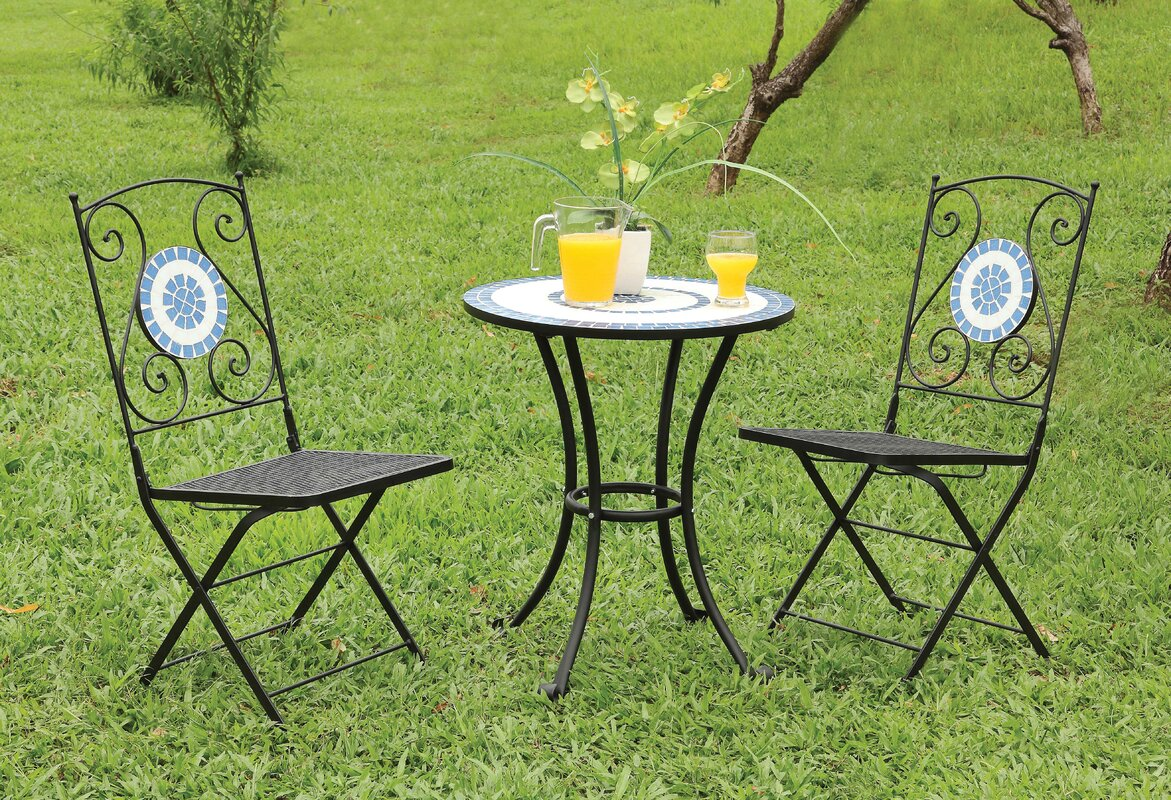 royal patio portland set chairs chair dining bistro folding table