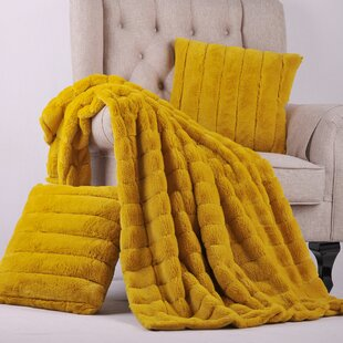fb542468b0 Yellow   Gold Blankets   Throws You ll Love