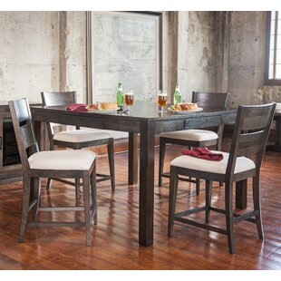 Hazelton 5 Piece Pub Table Set Gracie Oaks