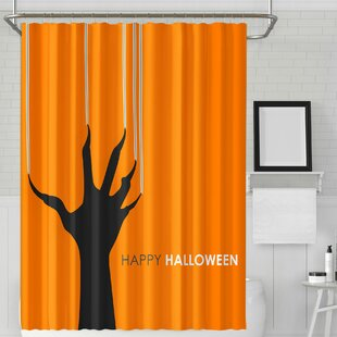 Jepson Halloween Evil Scratch Single Shower Curtain