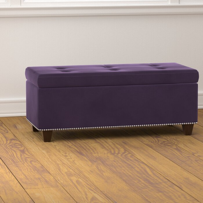 Remarkable Pelayo Tufted Storage Ottoman Andrewgaddart Wooden Chair Designs For Living Room Andrewgaddartcom