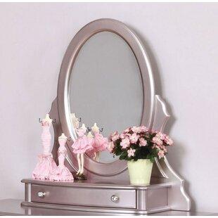Affordable Price Gannon Bathroom Vanity Mirror ByRosdorf Park