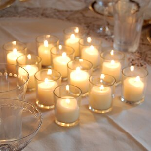 12 Piece Glass Votive Set