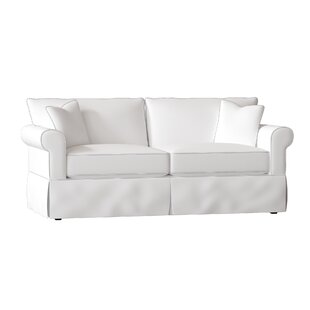 White Cotton Duck Sofa Wayfair