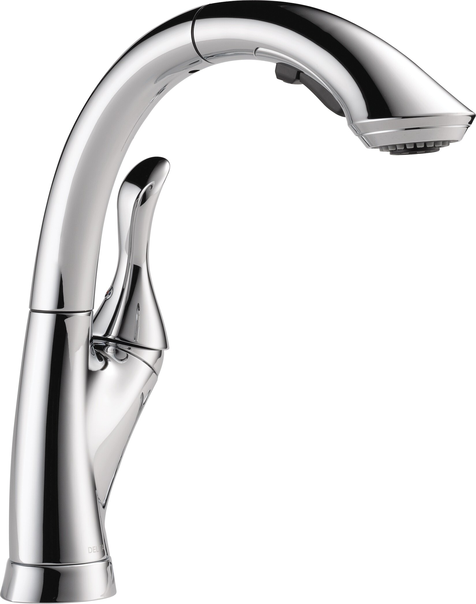 Linden Pull Down Touch Single Handle Kitchen Faucet With Diamond Seal Technology Reviews Allmodern