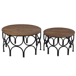 Eleonora 2 Piece Nesting Tables