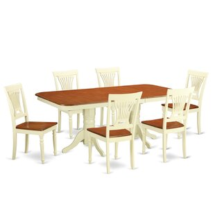 Napoleon 7 Piece Dining Set by Wooden Importers Modern