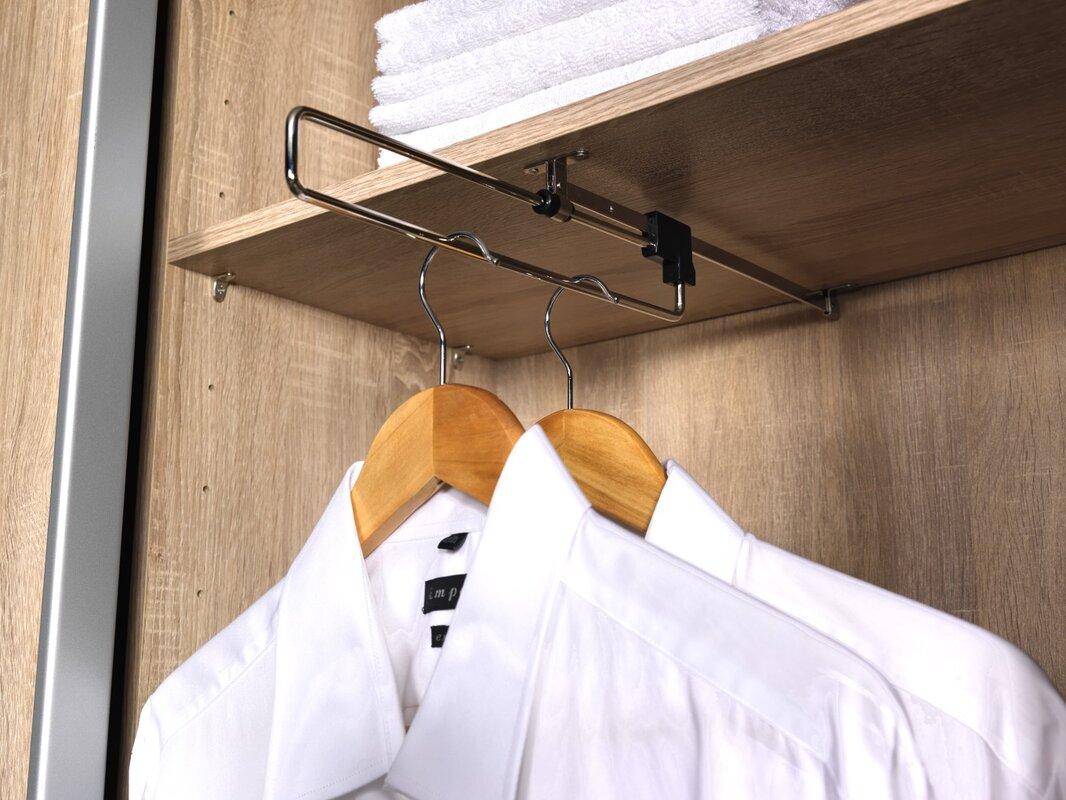 cs schmal kleiderstange soft smart bewertungen. Black Bedroom Furniture Sets. Home Design Ideas