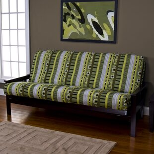 Arent Zipper Box Cushion Futon Slipcover by Latitude Run Sale