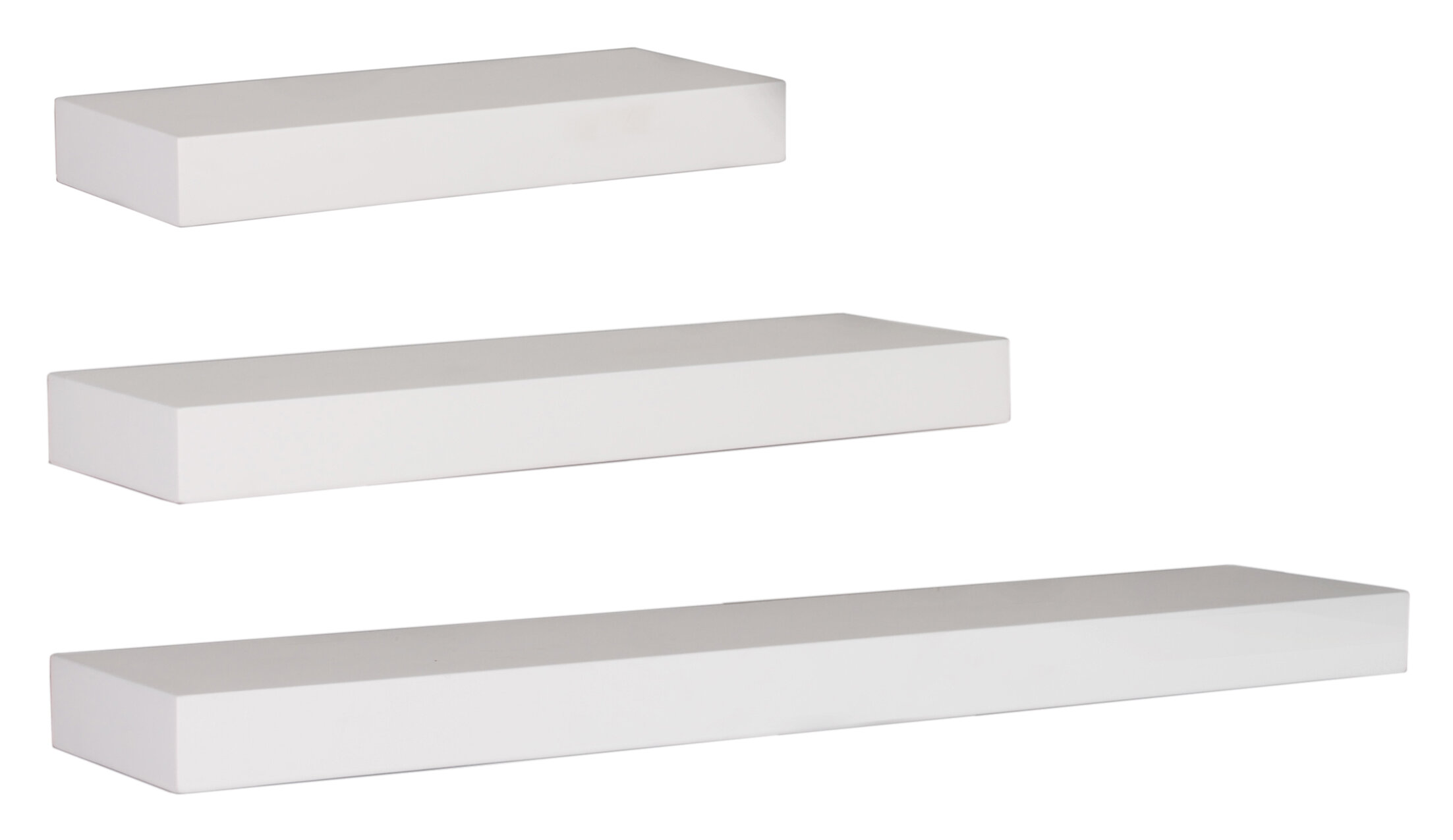 rectangle 3 piece floating shelf set mcrw2944
