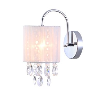 Reviews Kujawski 1-Light Armed Sconce By House of Hampton