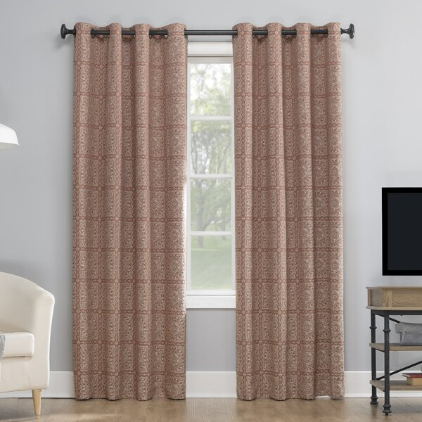 Retro Curtains Orange Wayfair