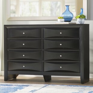 Shim 8 Drawer Double Dresser by Winston Porter 2019 Online