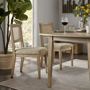 Deleon Upholstered Dining Chair (Set of 2)