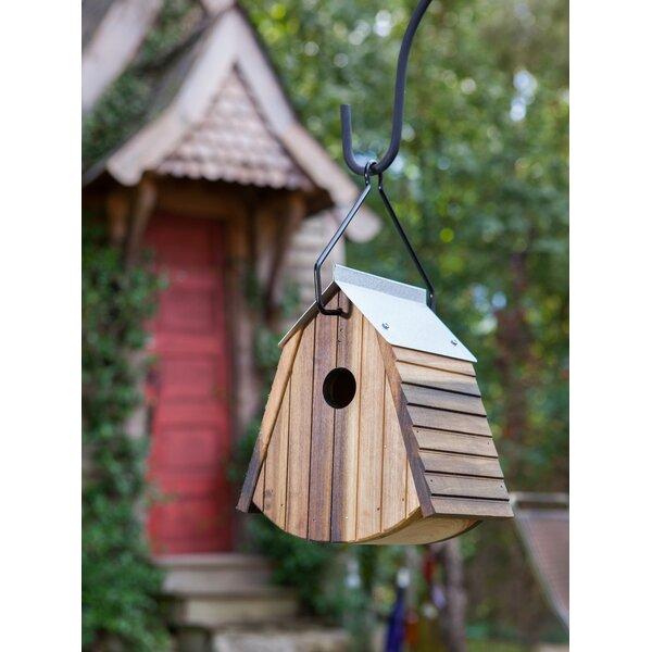 Garden Butterfly Birdie Wood Birdhouse