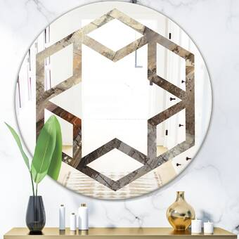 Allied Brass Wall Mounted Modern Contemporary Magnifying Make Up Mirror Wayfair