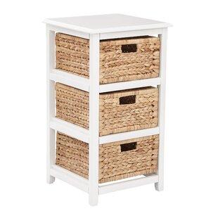 Great deal Kyoko 3 Drawer Storage Chest ByBeachcrest Home