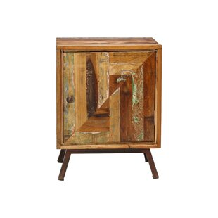 Jaipur Reclaimed 1 Door End Table by Design Tree Home