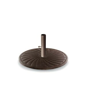 Round Cast Iron Free Standing Umbrella Base