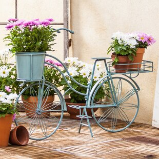 Captivating Metal Bicycle Planter