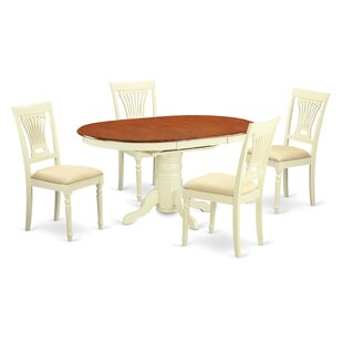 Spurling 5 Piece Dining Set by August Grove Sale